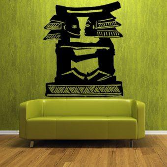 dekoracje na ściany motyw etno