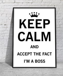 plakat boss