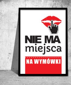 plakaty w ramach