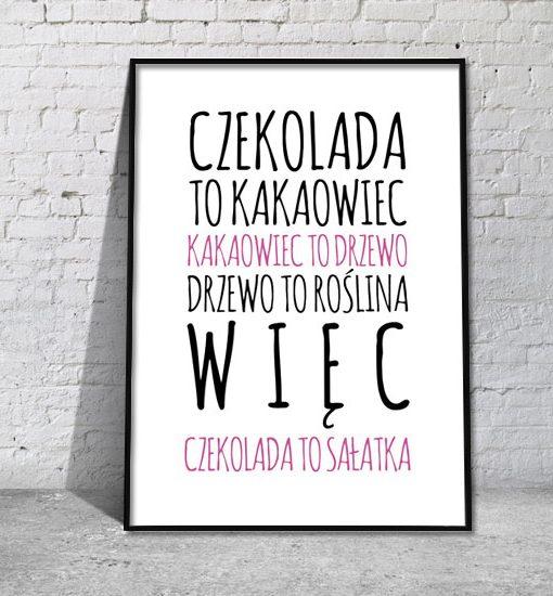 plakataty z napisami