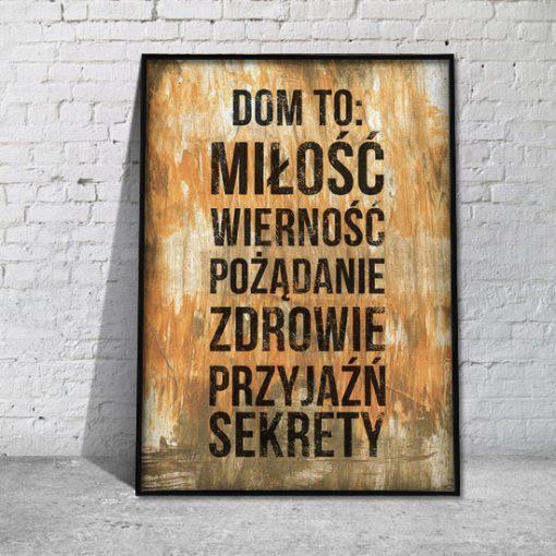 plakaty w ramie