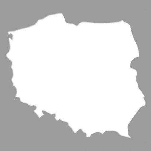 szablon do malowania mapa polski