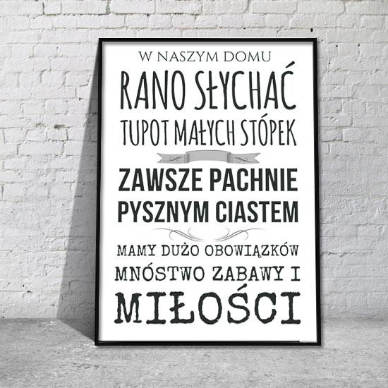 Plakaty Z Napisami Sentencjami Samoprzylepne