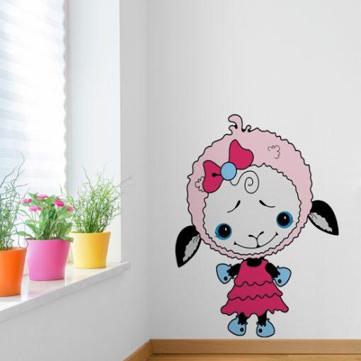 nalepka na ścianę