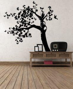 samoprzylepne dekoracje - samoprzylepna naklejka na drzwi