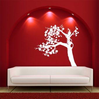 duże naklejki z drzewami - naklejka na ścianę drzewko