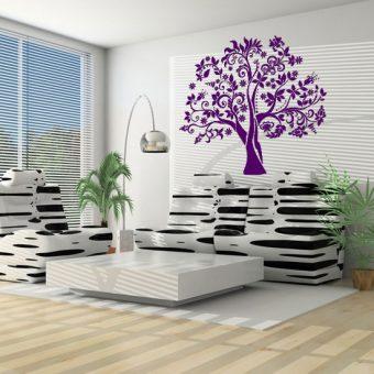 drzewko szablon do malowania