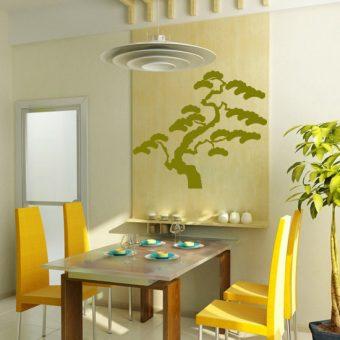 szablon drzewo bonsai
