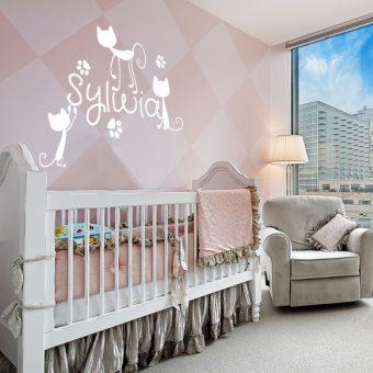 dekoracja scienna do pokoju dziecka
