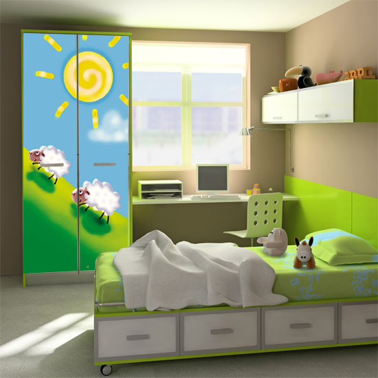 Naklejki Na ściany I Meble Do Pokoju Dziecka Możliwości Ozdoby