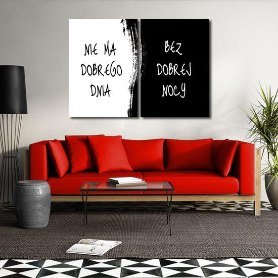 Obraz Czarno Biały Do Salonu