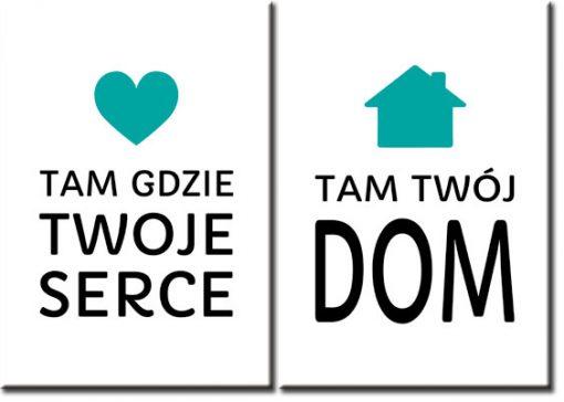 podwójne plakaty