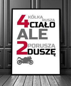 plakaty dla zmotoryzowanych