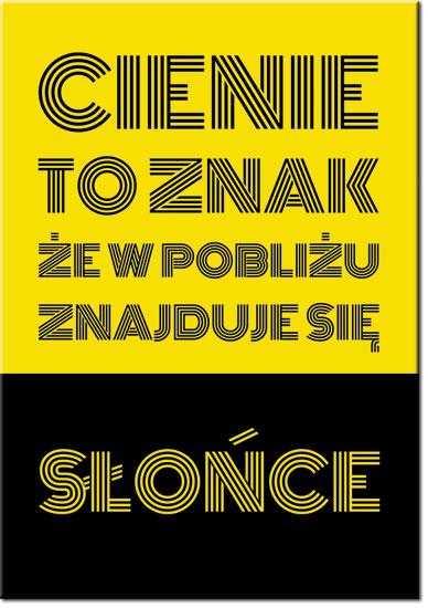 plakaty samoprzylepne