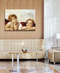 dekoracje z reprodukcjami