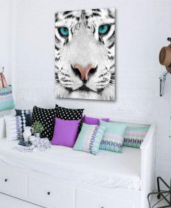 dekoracje z tygrysem