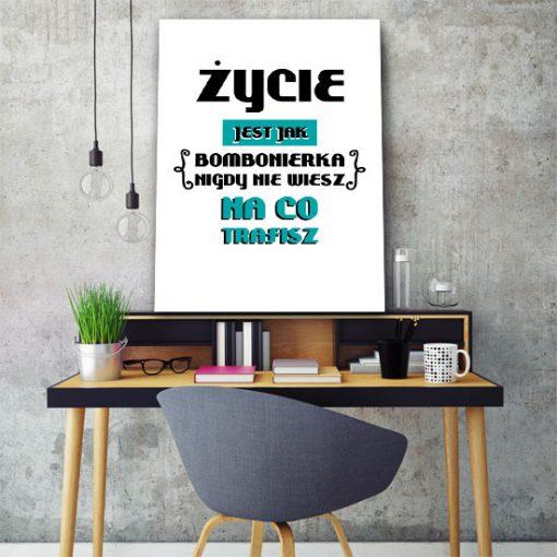 plakaty z maksymą