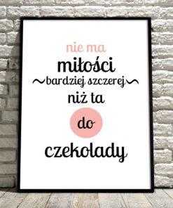 plakat w ramie na ścianę o miłości
