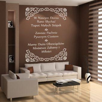 Naklejki Na ścianę Napisy Dekoracje Z Cytatami I Literami