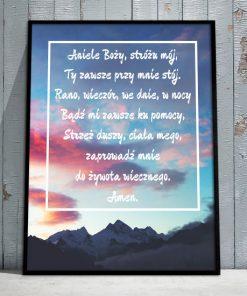 plakaty z niebem