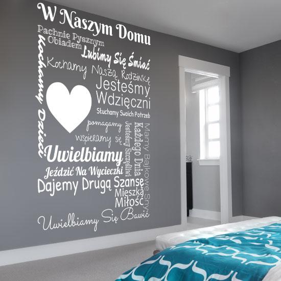 naklejki na ścianę