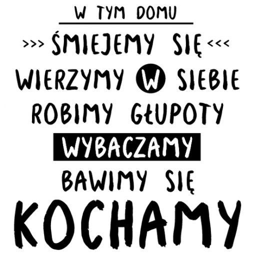 dekoracje z typografia