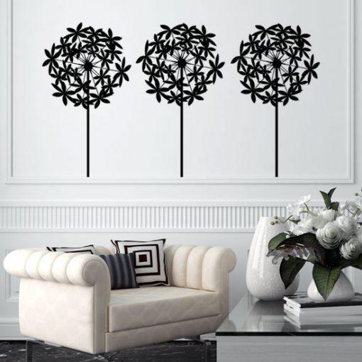 ornamenty z dmuchawcami