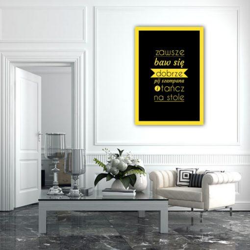 plakaty z życiowymi maksymami