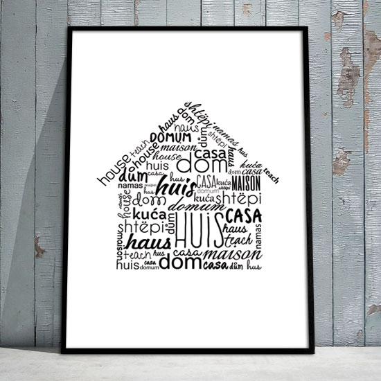 Plakat O Domu