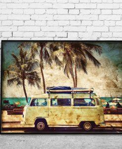 plakaty z wakacjami