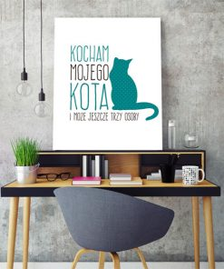 plakaty sentencje o kotach