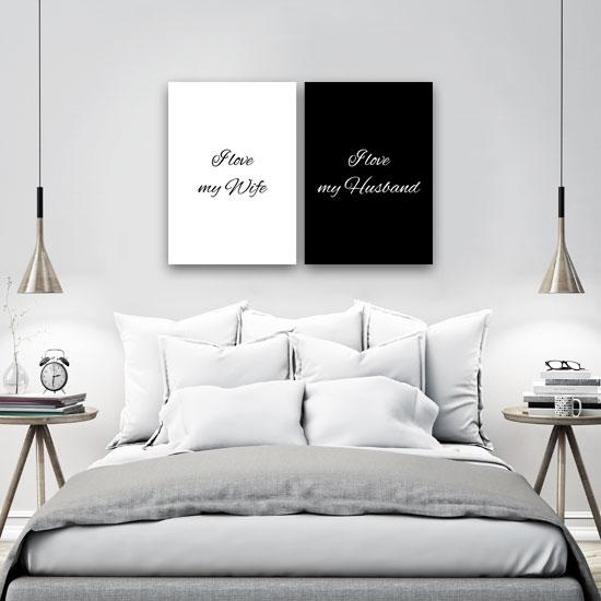 Podwójny Plakat Dla żony I Męża