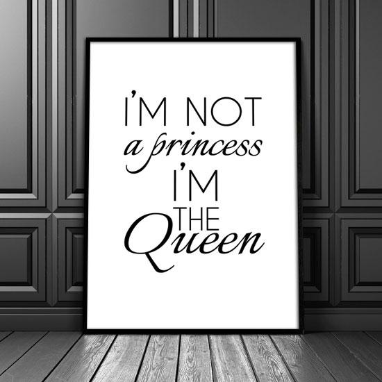Plakat O Królowej
