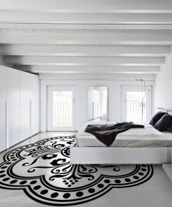 szablon do malowania podłogi