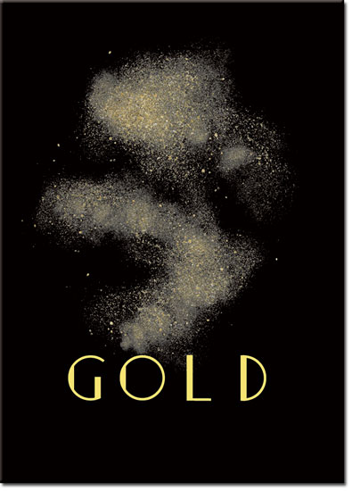 plakaty gold
