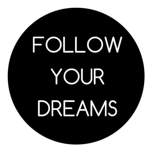 nalepka z marzeniami