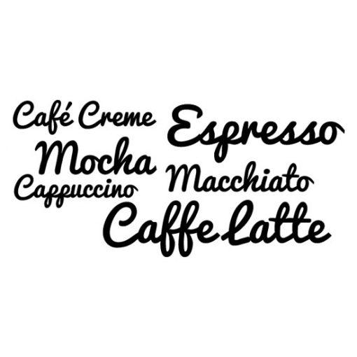 nalepki o kawie