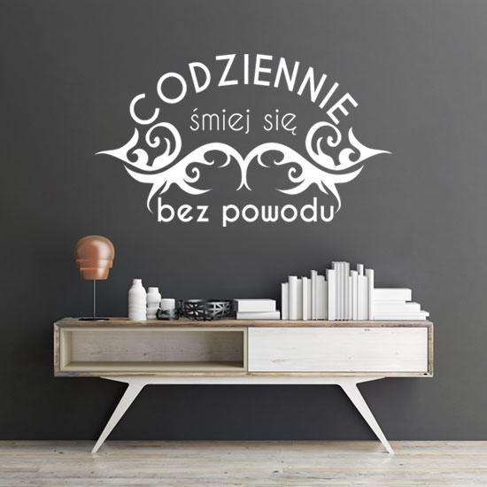 szablon malarski na ścianę litery