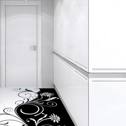 jak namalować wzór na podłodze