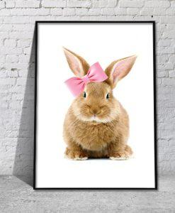 plakaty z królikami