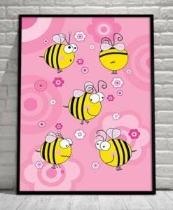plakaty z owadami