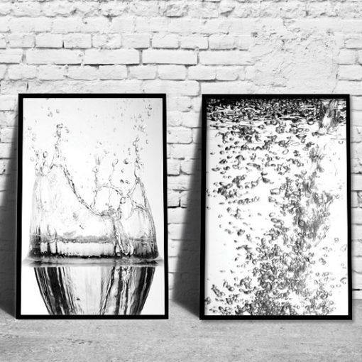 plakat z wodą