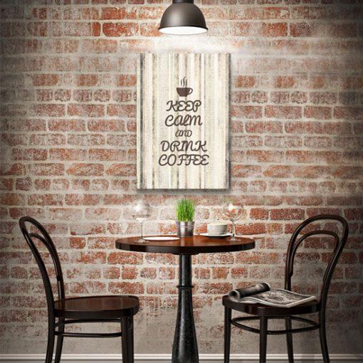 dekoracja do kawiarni