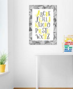 dekoracja z literami