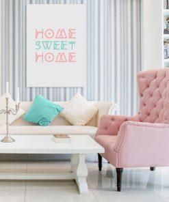 dekoracje z modnymi hasłami