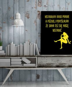 plakat dla kobiety