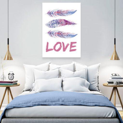 nowoczesne plakaty do sypialni