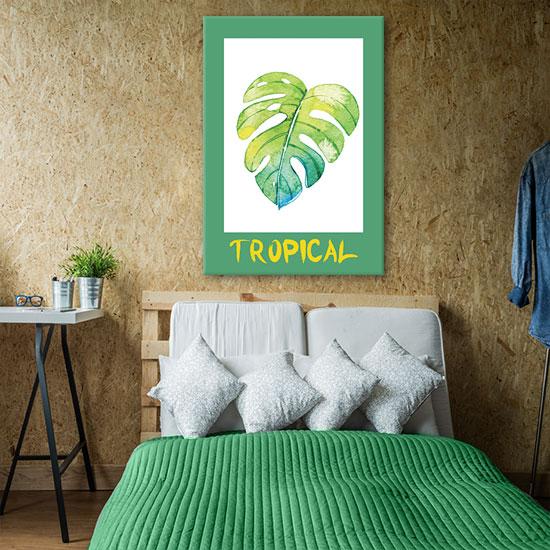plakaty zielone i groszkowe