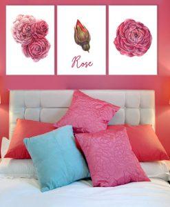 dekoracje różowe