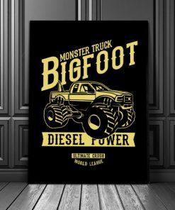 plakaty z autami